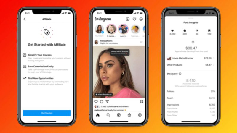 Instagram will offer influencers extra money with their sales