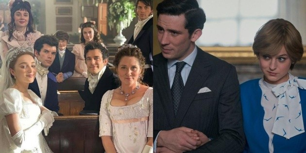 Bridgerton copied from The Crown and you overlooked it