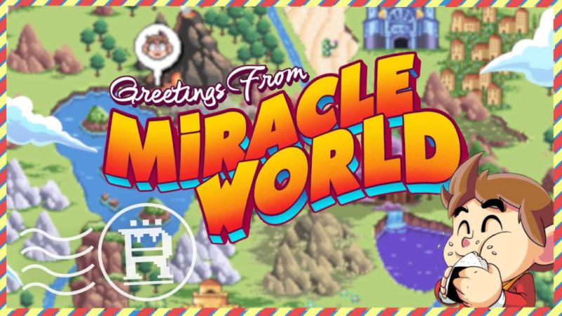 Alex Kidd in Miracle World DX previews its launch and presents a new trailer