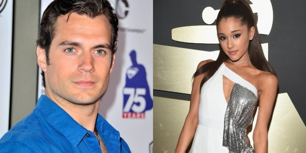 Henry Cavill and Ariana Grande could star in a movie together