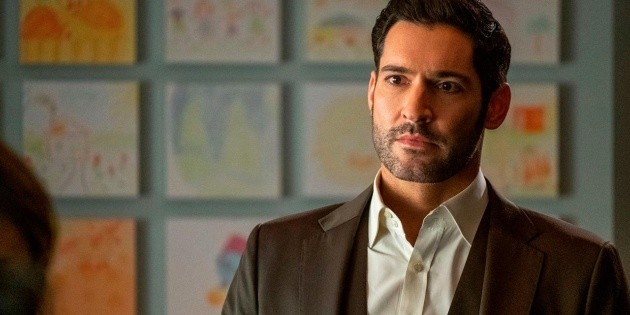 Lauren German imitated Lucifer and Tom Ellis didn't like it at all