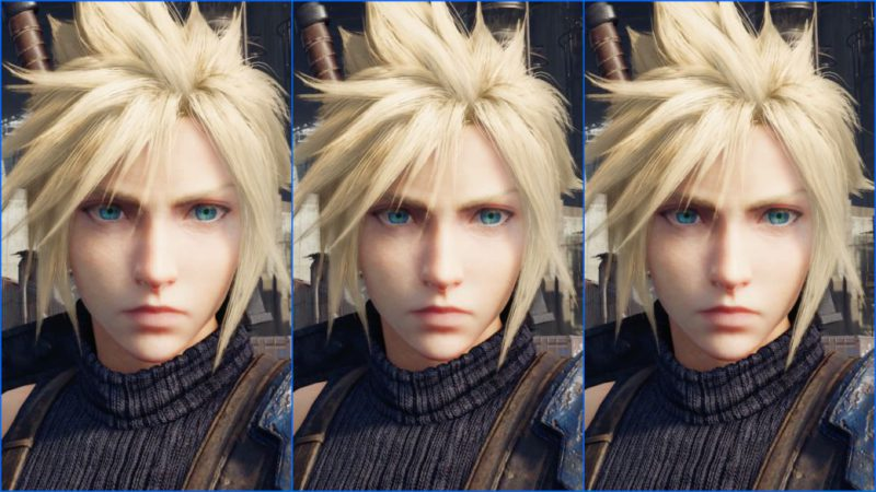 Final Fantasy VII Remake | Comparativa gráfica PS5 vs PS4 Pro vs PS5