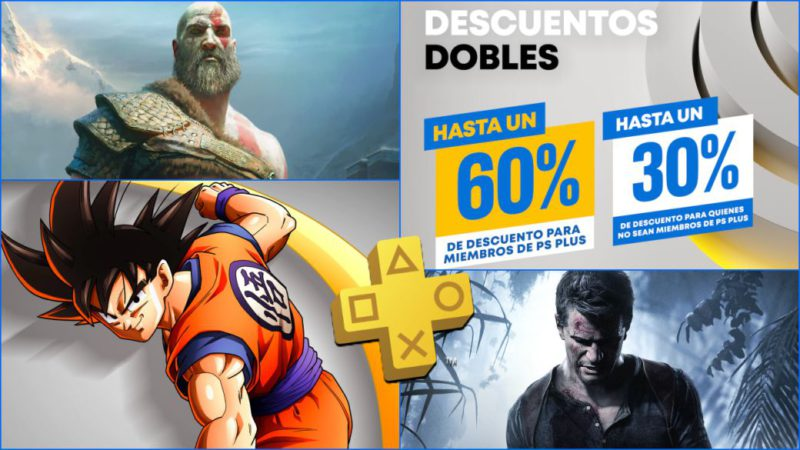 PS Plus |  Double Discount Deals on PS Store games for PS5 and PS4