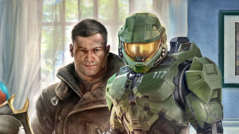 E3 2021 |  Xbox and Bethesda welcome E3 with this familiar illustration