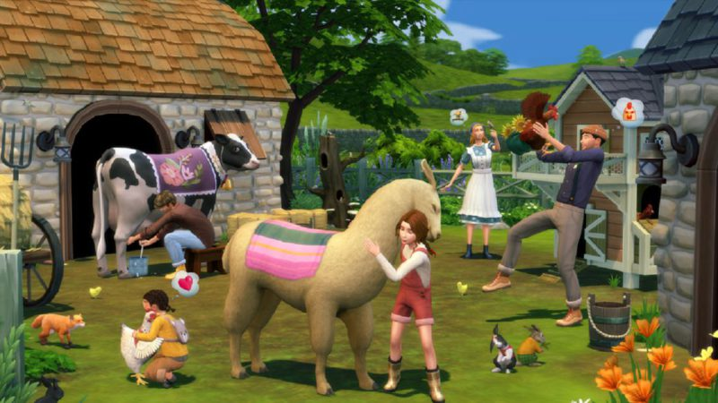 The Sims 4 dates its next expansion pack, Village Life