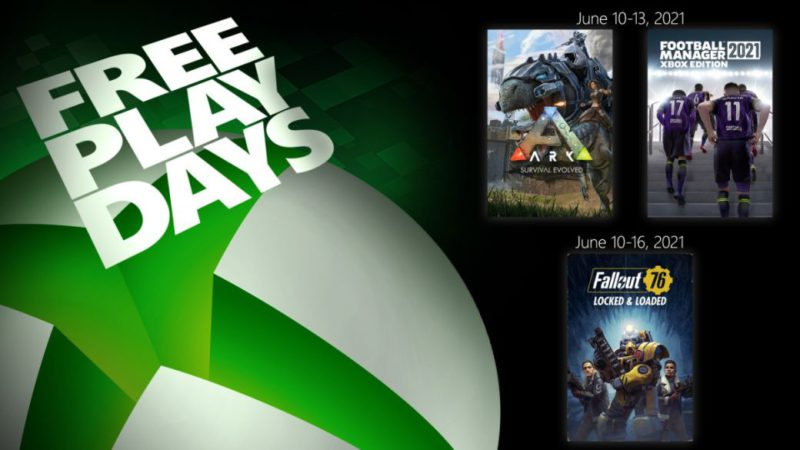 Play Fallout 76, ARK, and Football Manager 2021 for Free This Weekend with Xbox Live Gold