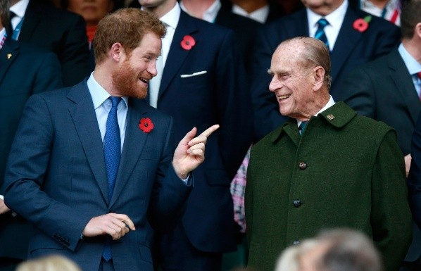 Prince Harry was the only one who could fulfill Felipe's goal.  Photo: (Getty)