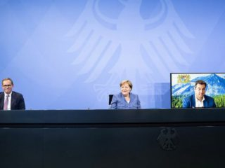 Merkel wants to accelerate the expansion of the power lines, countries are putting pressure
