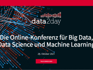 data2day 2021: Call for proposals for the Heise data conference started