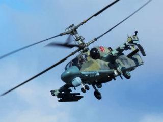 El helicóptero de ataque ruso Ka-52M recibe un nuevo kit de armas guiadas