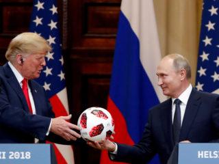 """""""No te duermas"""": Trump trolea a Biden antes de su reunión con Putin"""