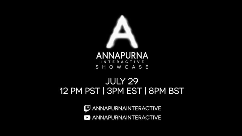 Annapurna Interactive will show its game catalog at a live event