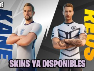 Fortnite: Harry Kane and Marco Reus skins now available;  price and contents