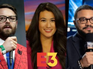 Who are the presenters of E3 2021?  Greg Miller, Jacki Jing and Alex Mendez