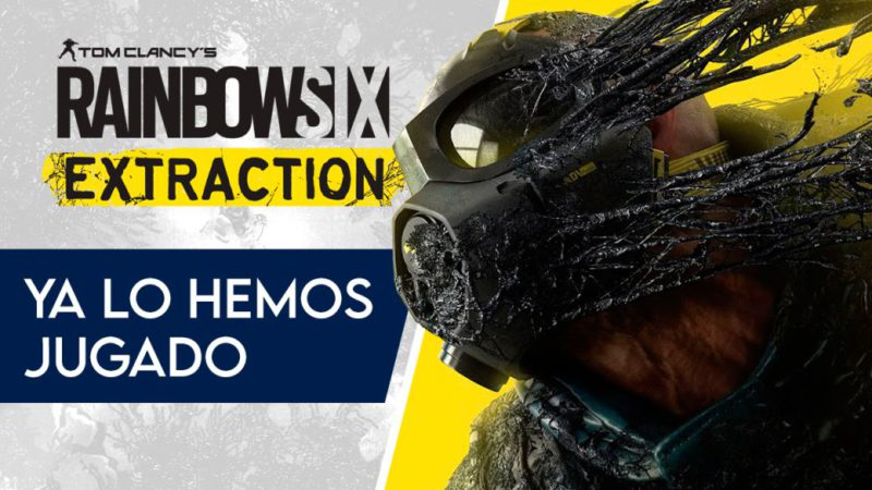 Rainbow Six: Extraction gameplay.  We have already played it!