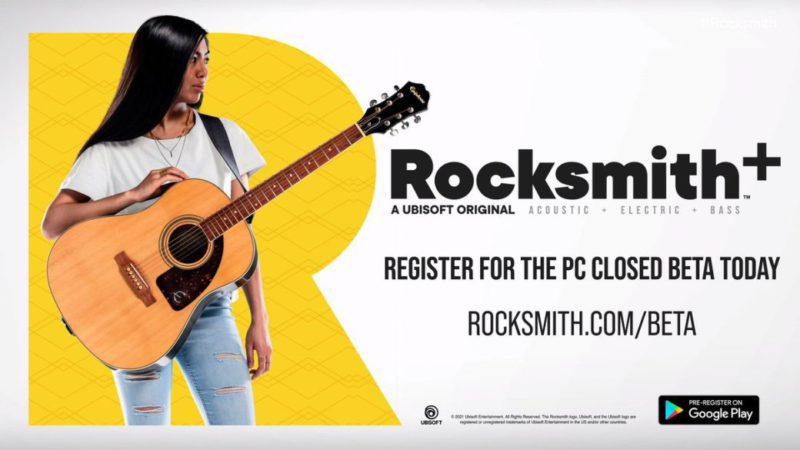 Rocksmith revives: Ubisoft's guitar game returns as a subscription service