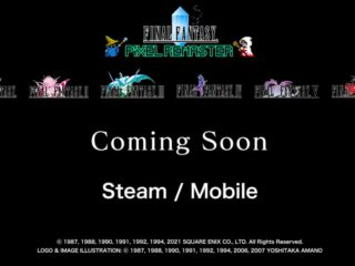 Final Fantasy to receive remasters of its first six games on PC and mobile