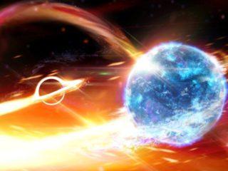 Científicos indagan en el origen binario de un gran onda gravitatoria captada en 2019: ¿qué 'se tragó' el agujero negro?