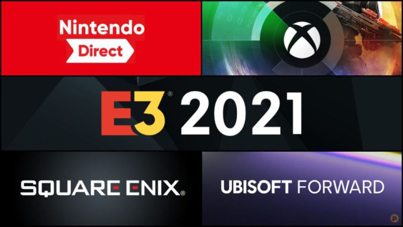 E3 2021: calendar, times and date of all conferences