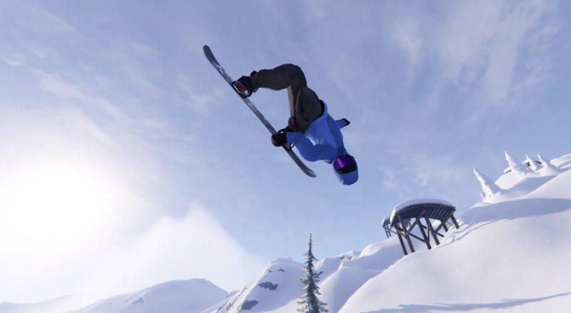Snowboard simulation Shredders announced - E3 2021