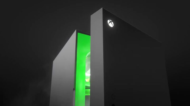 Xbox Series X: the miniature fridge that was a meme is now real