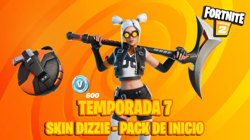 Fortnite Season 7: Starter Pack Now Available;  this is the skin Dizzie