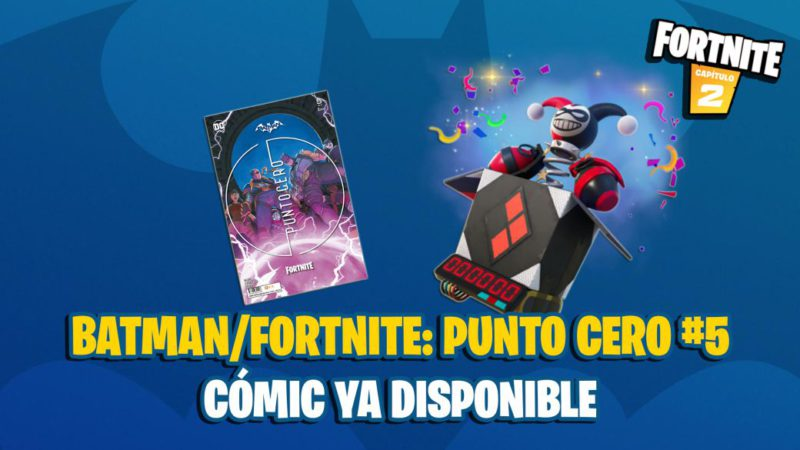 Batman x Fortnite Comic: Zero Point 5 Now Available;  where to buy and how to redeem the code