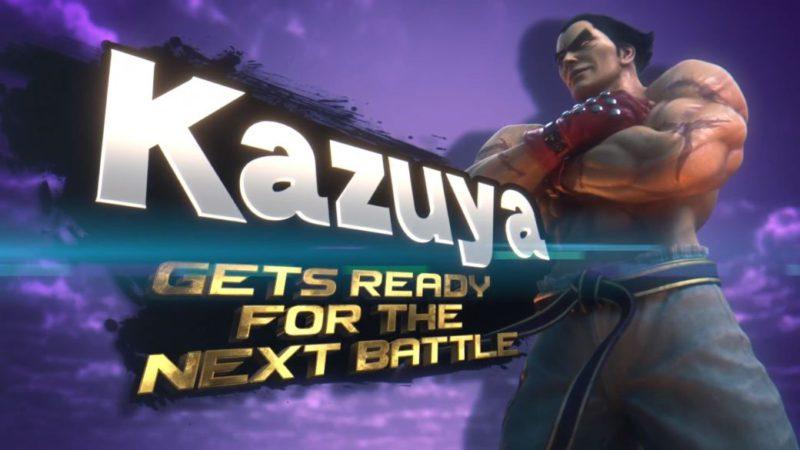 Kazuya Mishima, new character in Super Smash Bros. Ultimate