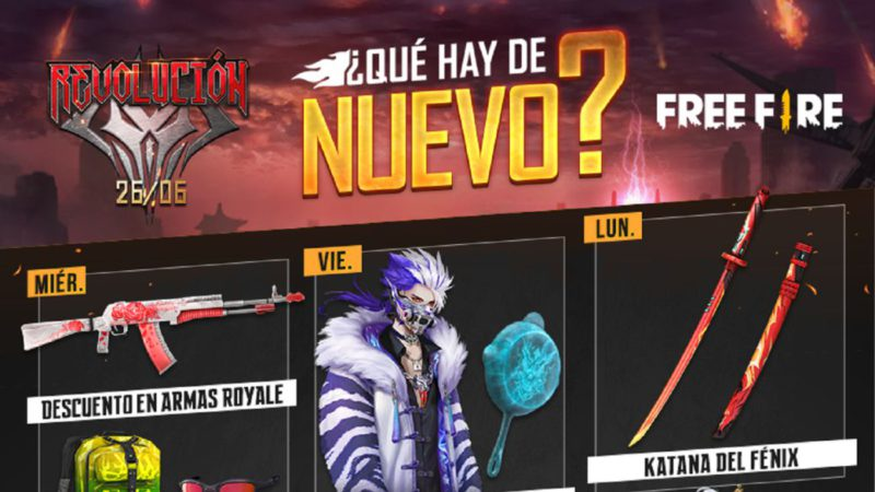 Free Fire: weekly agenda from June 16 to 22 with magic roulette and mythical paradise