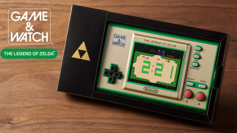 The Legend of Zelda will have a Game & Watch with several of its classics;  release date