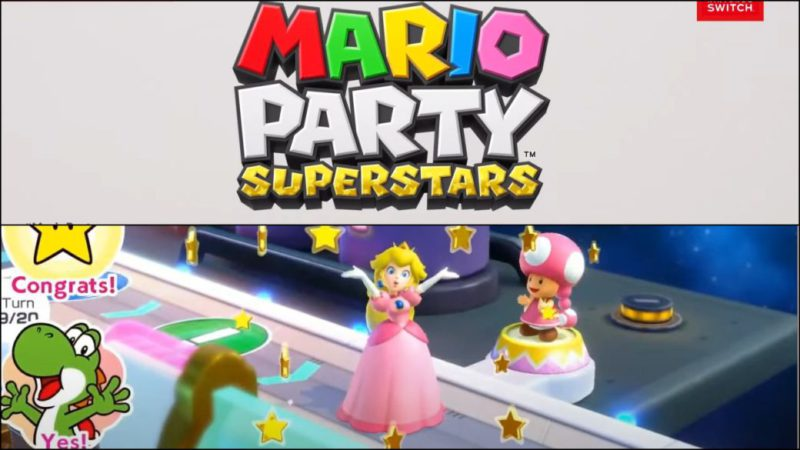 Mario Party Superstars announced;  first trailer, date and details