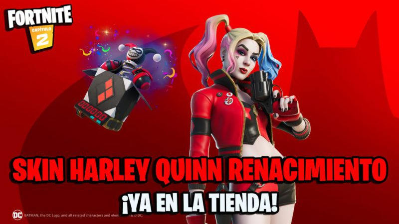 Fortnite: Harley Quinn Rebirth skin now in store;  price and contents