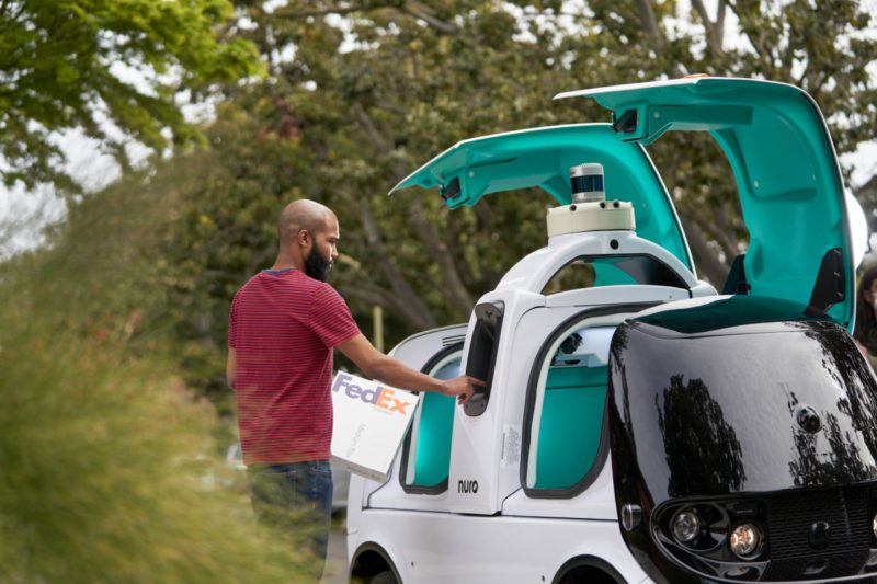 FedEx plans to deliver Nuro autonomous vehicles