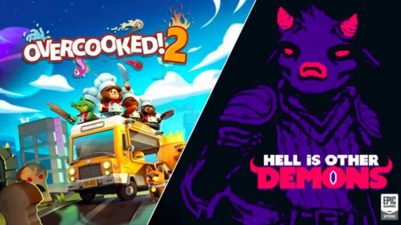 Overcooked!  2 and Hell is other Demons, new free games from the Epic Games Store;  how to download them on PC