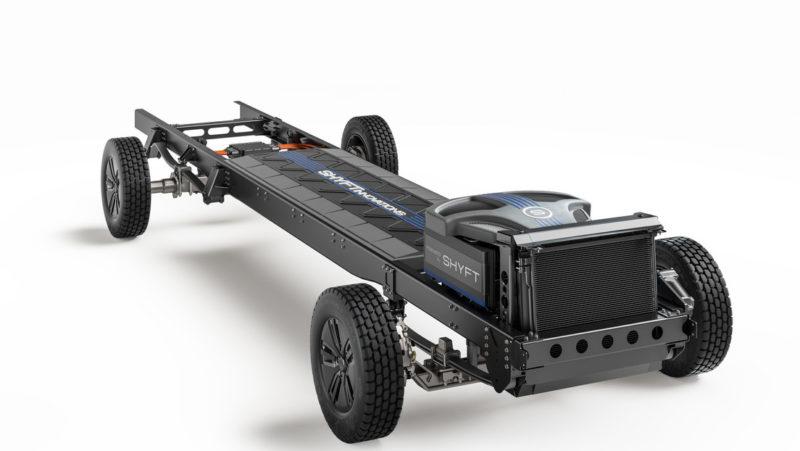 Desarrollan un novedoso chasis multipropósito completamente eléctrico que podrá ser usado en varios tipos de vehículos