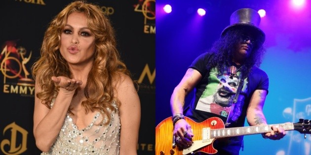 Paulina Rubio turns 50: the day Slash agreed to collaborate on her song Nothing can change me