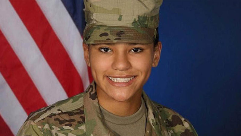 Revelan la causa de la muerte de una soldado encontrada sin vida casi un año después de ser agredida sexualmente en una base militar de EE.UU.