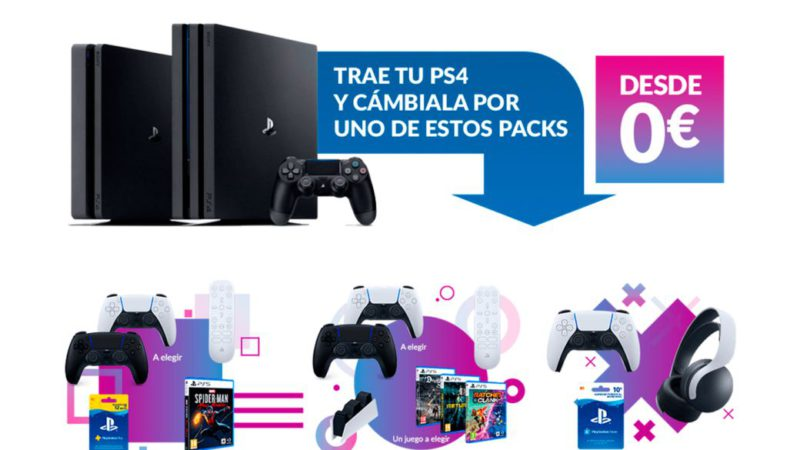 Bring your PS4 to GAME and exchange it for new PS5 packs with games and accessories