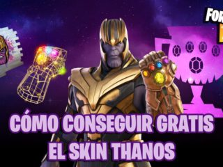 How to get the Thanos skin for free in Fortnite;  dates and times of your Cup
