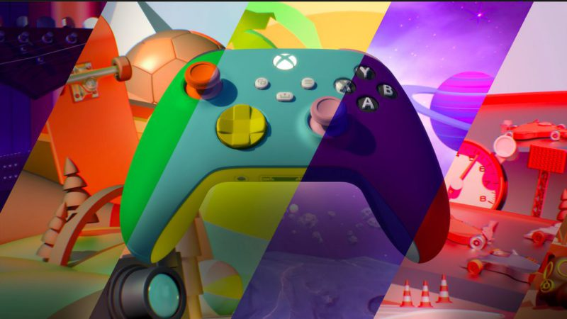 Xbox Design Lab is back;  design your own Xbox Series X controller