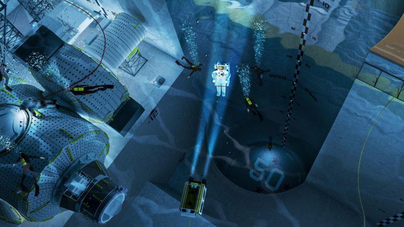 La piscina cubierta más grande del mundo albergará un nuevo centro de entrenamiento de astronautas