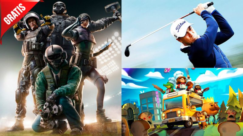 Free games for this weekend: Rainbow Six Siege, PGA Tour 2K21 ...