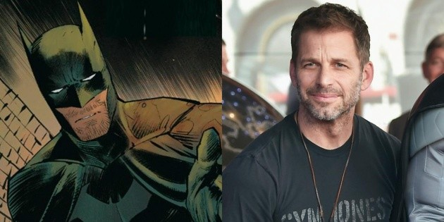 He's crazy: Zack Snyder showed the photo of Batman and Catwoman that DC censored