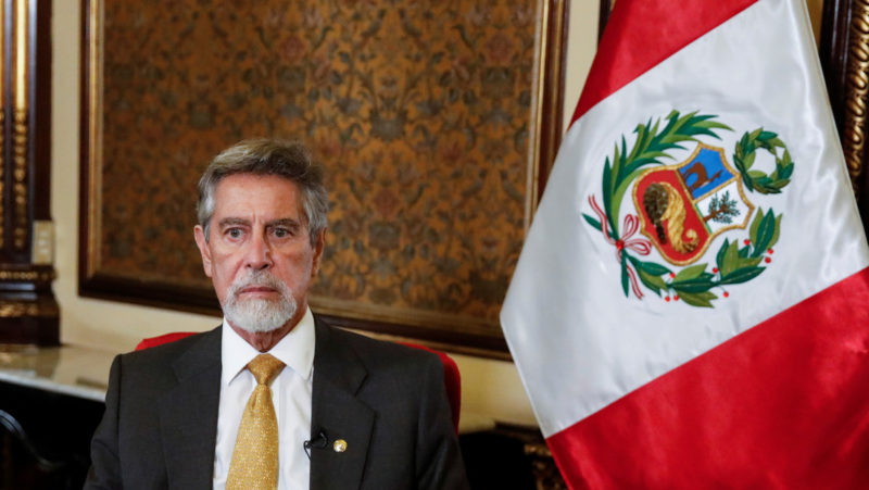 The president of Peru asks to investigate a letter in which ex-soldiers call to ignore an eventual victory of Pedro Castillo