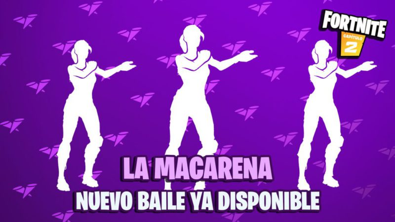 La Macarena comes to Fortnite;  this is the new dance