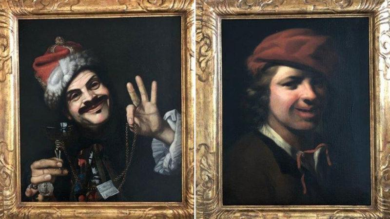 Encuentran dos valiosas pinturas del siglo XVII en un contenedor de basura en Alemania y la Policía busca a su dueño