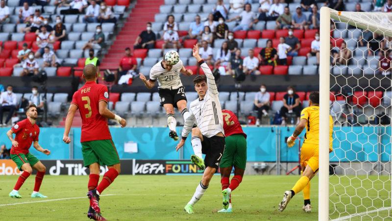 Alemania sorprende a Portugal 4-2 y pone más emoción al 'grupo de la muerte' de la Eurocopa 2020