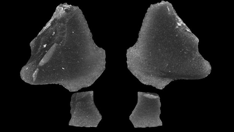 """""""No tiene precedentes"""": descubren bajo el lago Hurón objetos de obsidiana de 9.000 años que viajaron 4.000 kilómetros"""