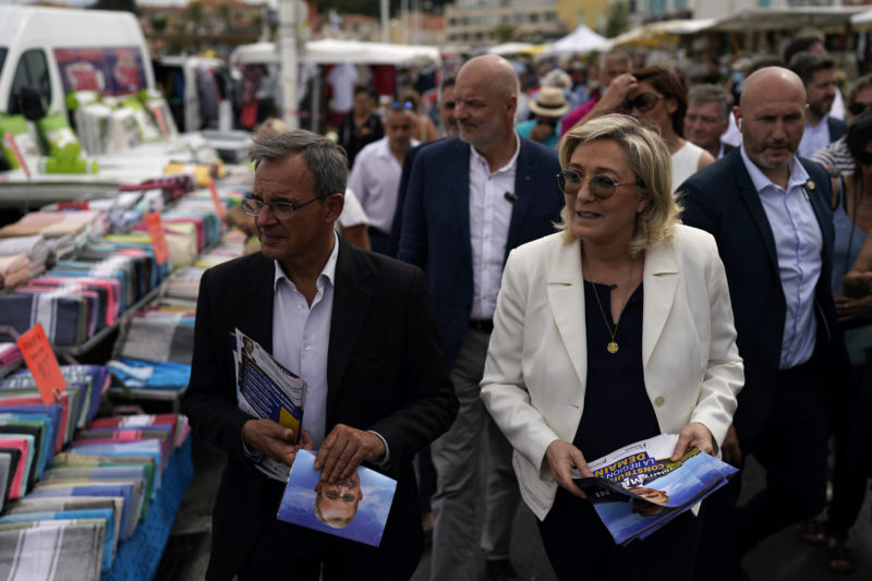 The far right aspires to rule its first region in France