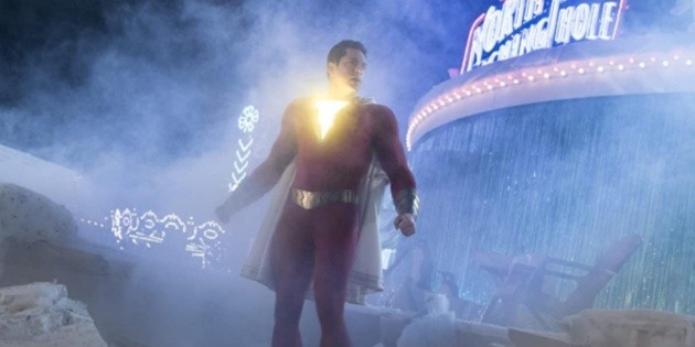 They revealed the first image of the Shazam family in the sequel of the hero